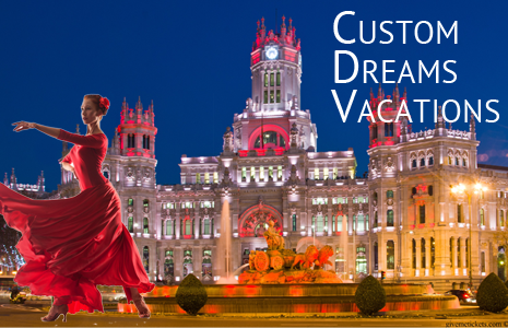 Custom Dream Vacations at GiveMeTickets
